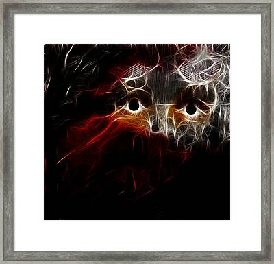 In The Dark Framed Print