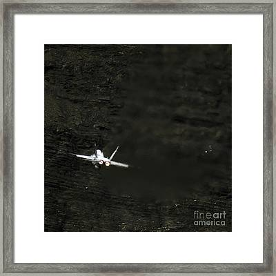 In The Darkness Framed Print