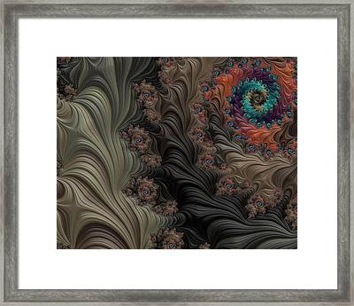 In The Deep Woods Framed Print by Bonnie Bruno
