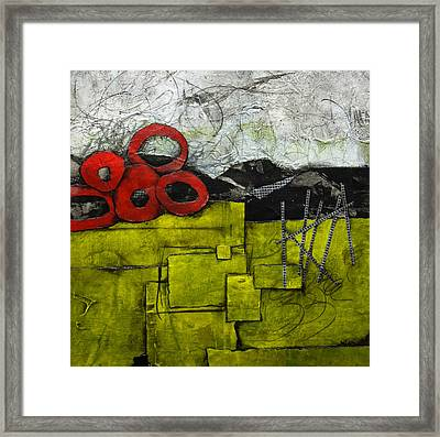 In The Depth Of Life Framed Print by Laura Lein-Svencner