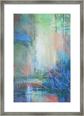 In The Depths Framed Print
