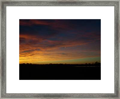 In The Distance Framed Print by Traci Goebel