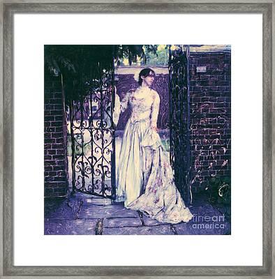 In The Doorway... Framed Print by Steven  Godfrey