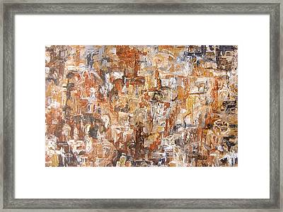 In The Dream Framed Print