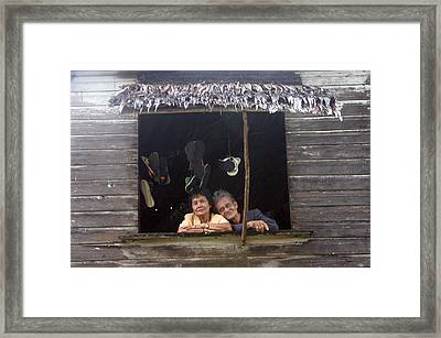 In The Dry Framed Print by Jez C Self