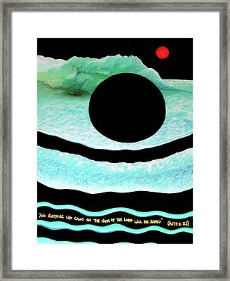 In The End Framed Print by Barbara Stirrup