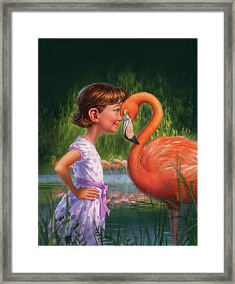 In The Eye Of The Beholder Framed Print by Mark Fredrickson