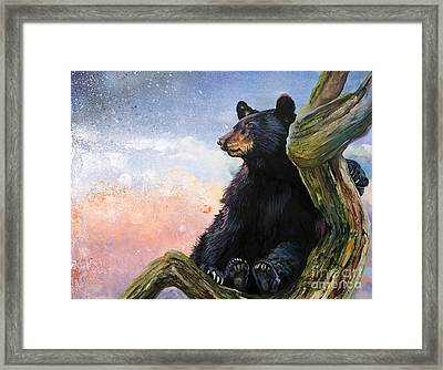 In The Eyes Of Innocence  Framed Print
