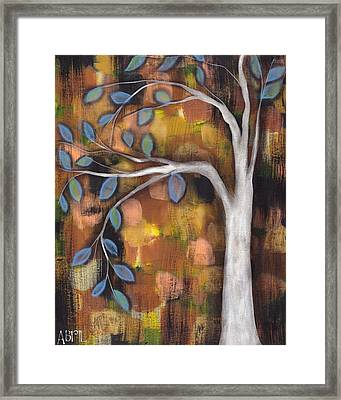 In The Fall Framed Print