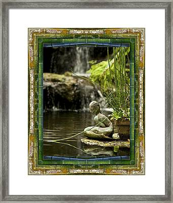 In The Flow Framed Print by Bell And Todd