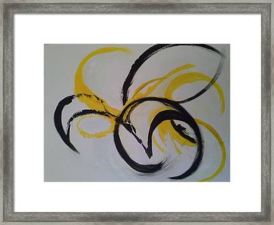 In The Flow Framed Print
