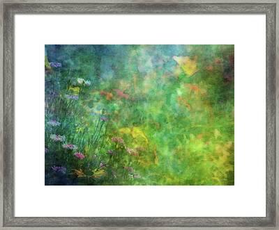 In The Garden 2296 Idp_2 Framed Print