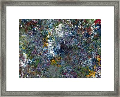 In The Garden Framed Print by Ceejoy Abstract Prints