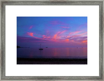 In The Gloaming Framed Print