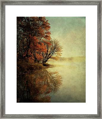 Framed Print featuring the digital art In The Gloaming by Margaret Hormann Bfa
