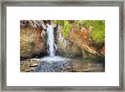 In The Grotto Framed Print by David Millenheft