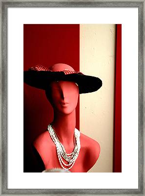 In The Hall Framed Print by Jez C Self
