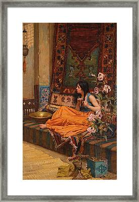 In The Harem Framed Print