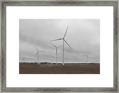 In The Heartland Framed Print