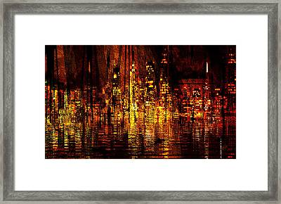 In The Heat Of The Night Framed Print