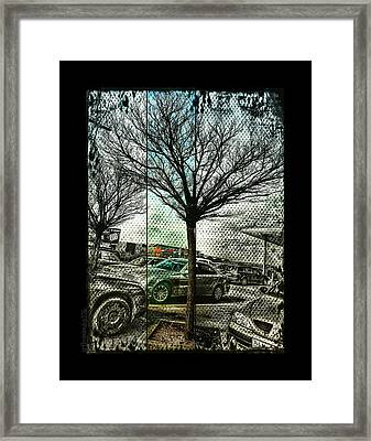 Framed Print featuring the photograph In The Here And There by Mimulux patricia no No