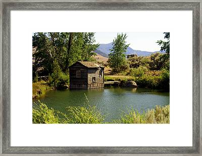 In The High Country Framed Print by Marty Koch