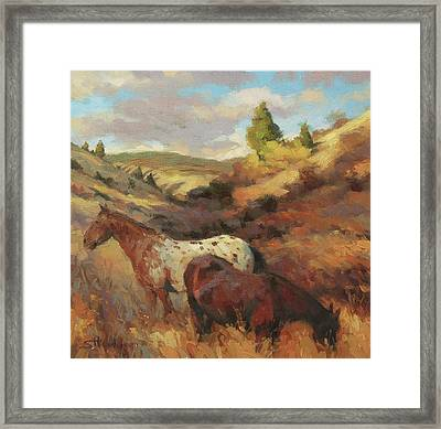 In The Hollow Framed Print