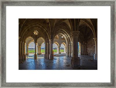 In The Holy Places Framed Print