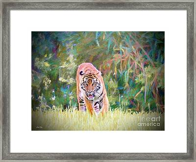 In The Jungle Framed Print by Judy Kay