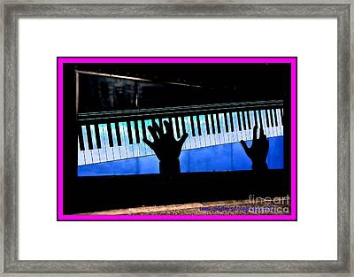 In The Key Of Cool Framed Print
