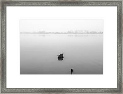 In The Lake Framed Print by Marco Oliveira