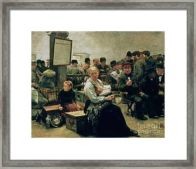 In The Land Of Promise Framed Print by Charles Frederic Ulrich