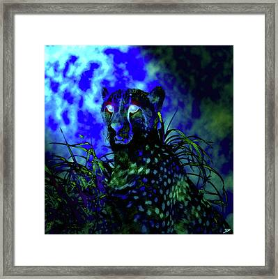In The Light Of An African Blue Moon Framed Print by David Lee Thompson