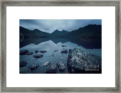 In The Light Of Dawn Framed Print by Evelina Kremsdorf