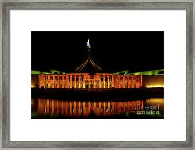 In The Light Of Magna Carta Framed Print
