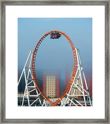 In The Loop Framed Print