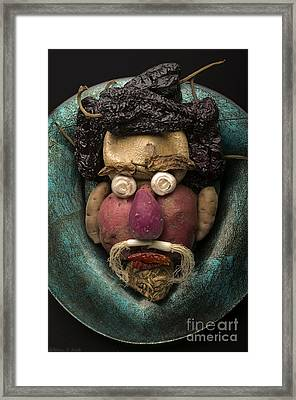 In The Manner Of Arcimboldo Framed Print by Warren Sarle