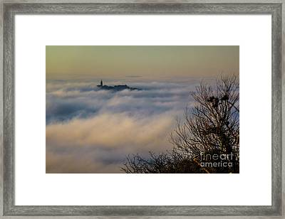In The Mist 1 Framed Print by Jean Bernard Roussilhe