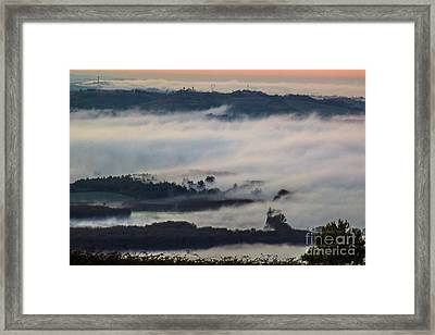 In The Mist 2 Framed Print by Jean Bernard Roussilhe