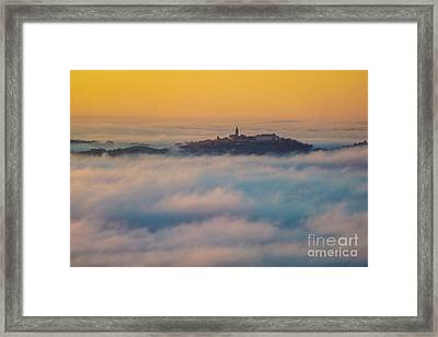 In The Mist 3 Framed Print by Jean Bernard Roussilhe