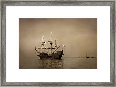 In The Mist Framed Print by Dale Kincaid