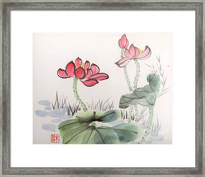 In The Mist Framed Print by Yolanda Koh