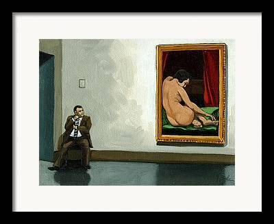 Contemporary Art Museum Framed Prints