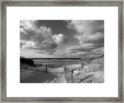 In The Mood Framed Print by Dianne Cowen