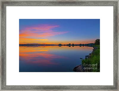 In The Morning At 03.40 Framed Print