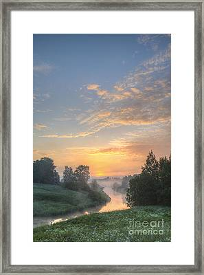 In The Morning At 04.27 Framed Print by Veikko Suikkanen
