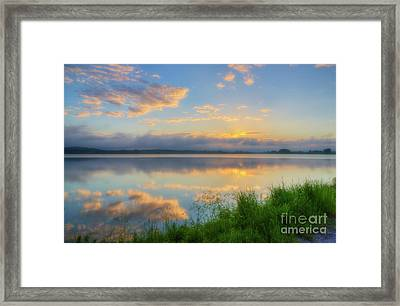 In The Morning At 04.47 Framed Print
