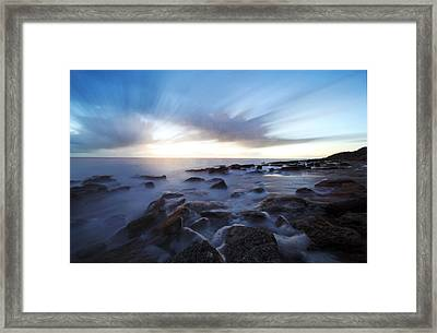 In The Morning Light Framed Print