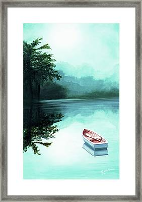 In The Morning Mist - Prints From My Original Oil Painting Framed Print