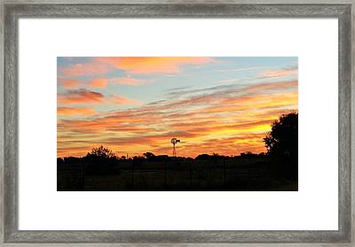 In The Morning Still Framed Print